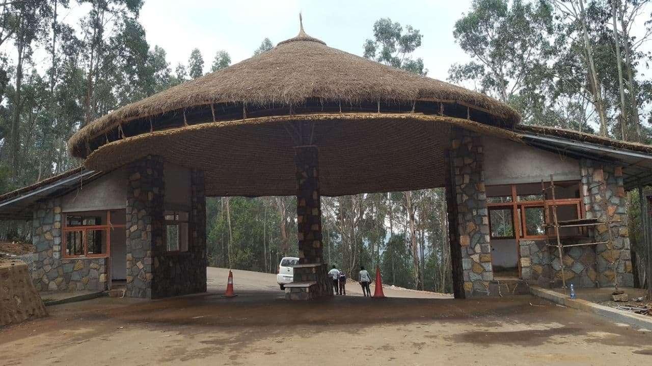 Entoto Mariam side gate